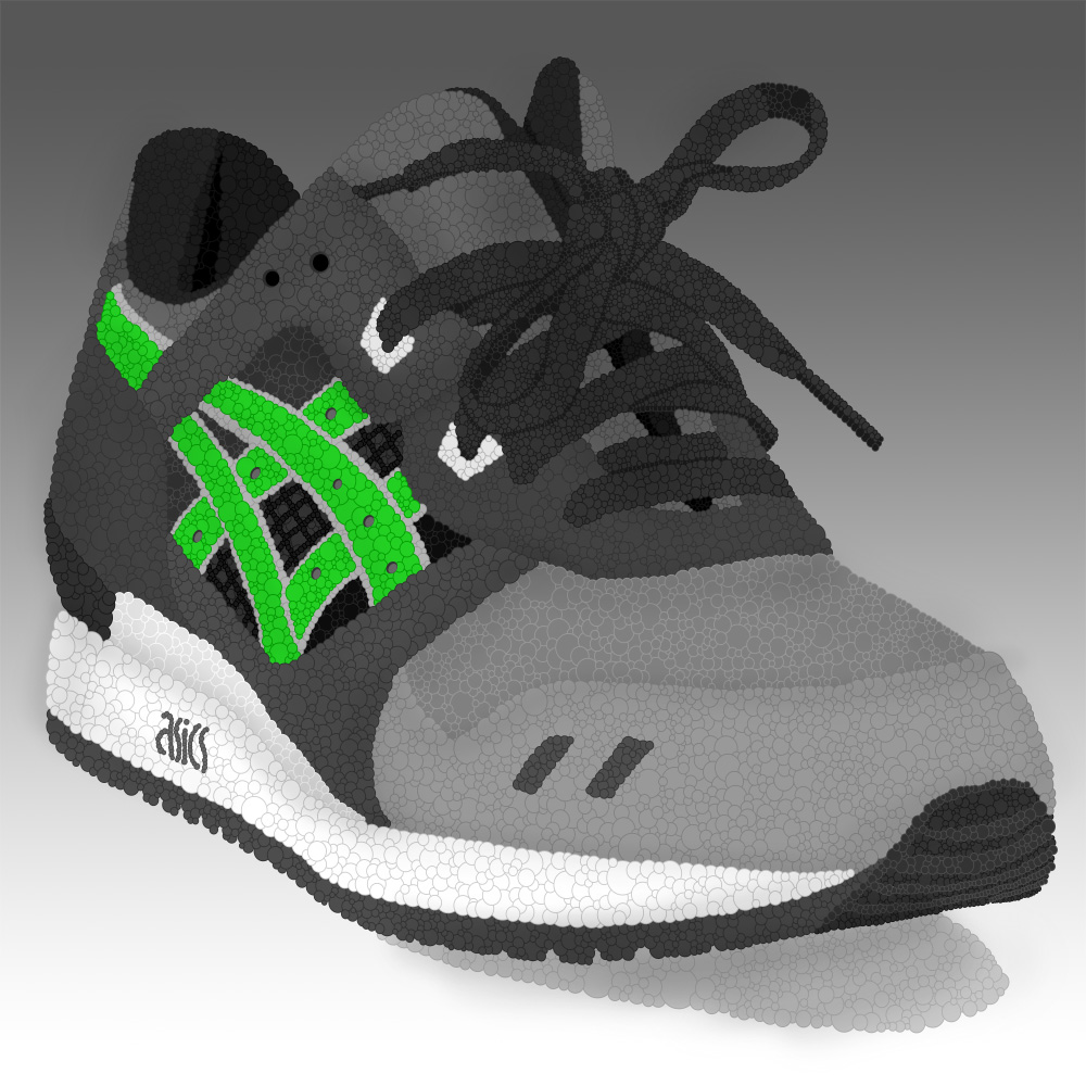 check out 60592 dbf54 Asics Gel Lyte III Super Green Illustration | Done with ...